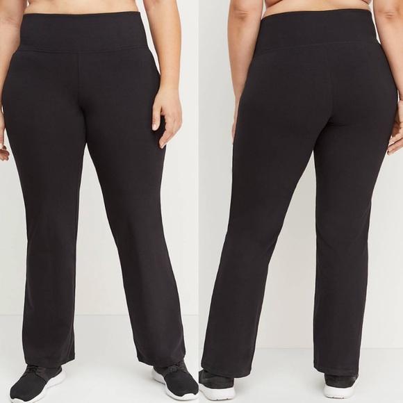 Livi Active Pants - Lane Bryant Livi Active Black Yoga Pants 18/20